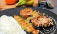 Filet mignon à la cannelle et fruits d'hiver