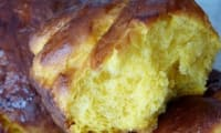Brioche à la la patate douce