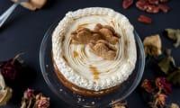 Layer cake québecois pécan sirop d'érable