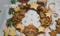 Couronne de l'Avent et ses biscuits à la cannelle de Christophe Felder