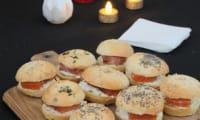 Le mini bagel au saumon gravlax