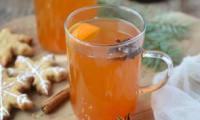 Cidre chaud aux épices douces