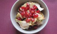 Salade d'artichauts crus-grenade