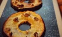 Pommes rôties au sirop d'érable et éclats de noix