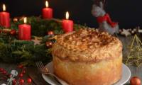 Tourte de Noël au foie gras