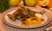 Poulet à l'origan et au citron confit