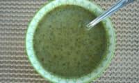 Soupe de chou kale et gingembre