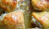 Poulet au miel et à la moutarde