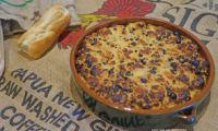 Pudding de pain aux raisins et chocolat