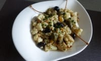 Chou-fleur rôti en salade