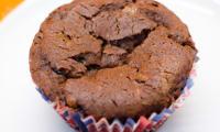 Muffins à la ganache au chocolat et aux noisettes