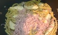 Macaronis au poulet et jambon au multicuiseur