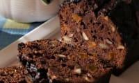 Cake au chocolat et aux fruits secs spécial choco-addict