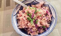 Quinoa au chou rouge