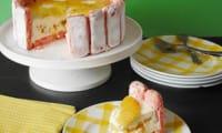 Charlotte chocolat blanc, coco et ananas