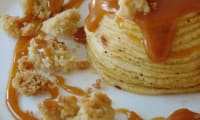 Crumble pomme caramel