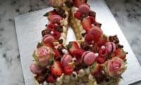 Gâteau d'anniversaire number cake