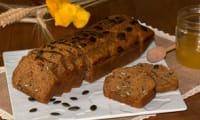 Breadcake à la patate douce et aux graines de courge
