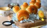 Brioches de Pâques lapin