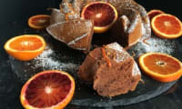 Madeleine chocolat orange sanguine