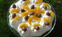 Pavlova de Pâques à l'orange