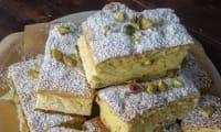 Gâteau moelleux à la pistache