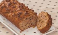 Gâteau du matin à la farine de châtaignes et aux pépites de chocolat