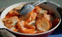 Patates douces façon gratin dauphinois