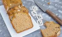 cake facile sans lactose courge et noisettes