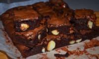 Brownie chocolat aux noix de Macadamia