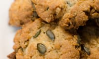 Cookies aux céréales et aux graines de courge