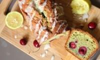 Cake cerise pistache