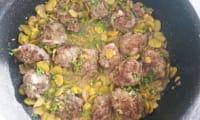 Boulettes de boeuf aux fèves et au citron d'Ottolenghi