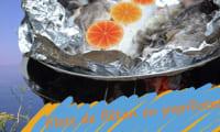 Filets de flétan en papillotes au barbecue