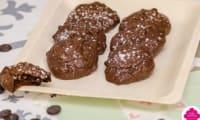 Cookies-brownies aux pépites de chocolat