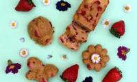 Gâteau à la ricotta, vanille et fraises