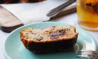 Gâteau à la banane, chocolat et noix de coco