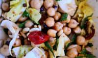 Salade de pois chiches du Sud