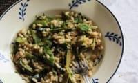 Risotto aux légumes de printemps et herbes fraîches