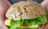Pains pour hamburger