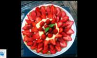 Tarte aux fraises et lemon curd
