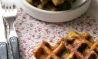 Gaufres fromage / poireaux
