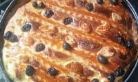 Tarte au fromage blanc Pască