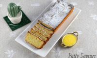Cake financier au citron