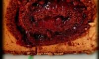 Bûche mystère aux fruits rouges