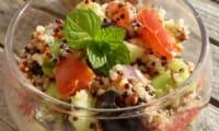 Salade de quinoa façon taboulé