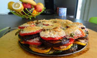 Tarte aux légumes grillés