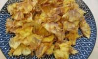 Chips d'ananas ou ananas séché