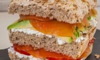 Pain rapide au muesli façon méga sandwich