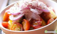 Salade de tomates fraîcheur